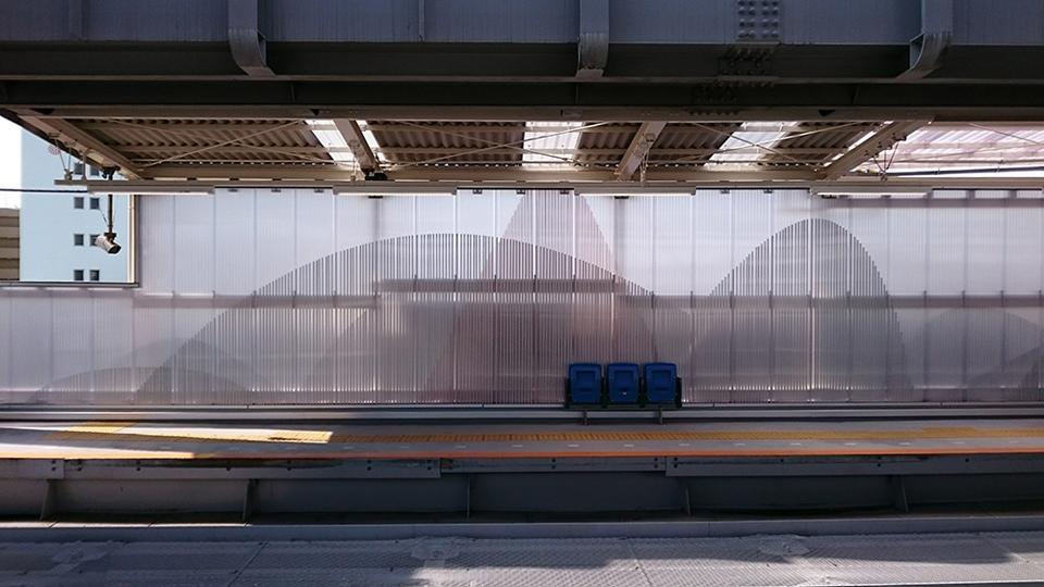 湘南モノレール富士見町駅改修